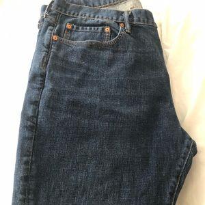 Men's GAP jeans darker wash 40x30 slim